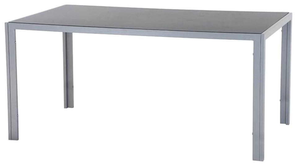 SIENA GARDEN Gartentisch Reno Aluminium 160x90 cm
