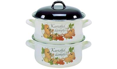 Krüger Dampfgartopf »KARTOFFEL«, Emaille, (1 tlg.) kaufen