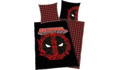 MARVEL Wendebettwäsche »Deadpool«, mit tollem Deadpool Motiv kaufen