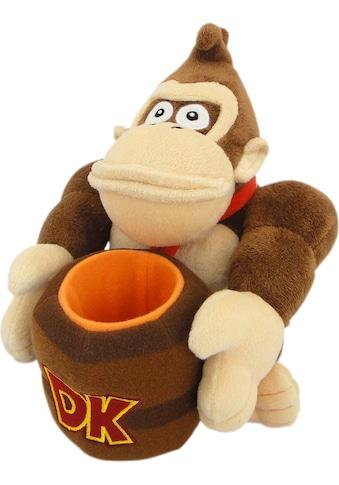 Nintendo Plüschfigur »Nintendo Donkey Kong Plüsch«, mit Fass kaufen