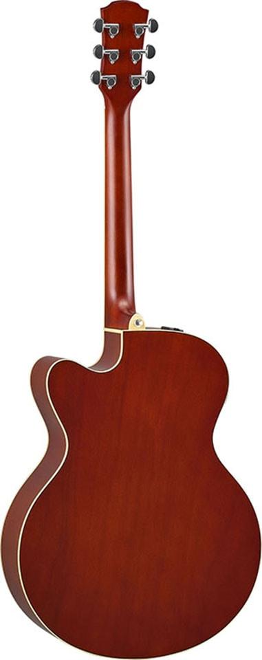Yamaha Akustikgitarre E-Akustikgitarre CPX600RTB, Root Beer braun Audio SOFORT LIEFERBARE Technik