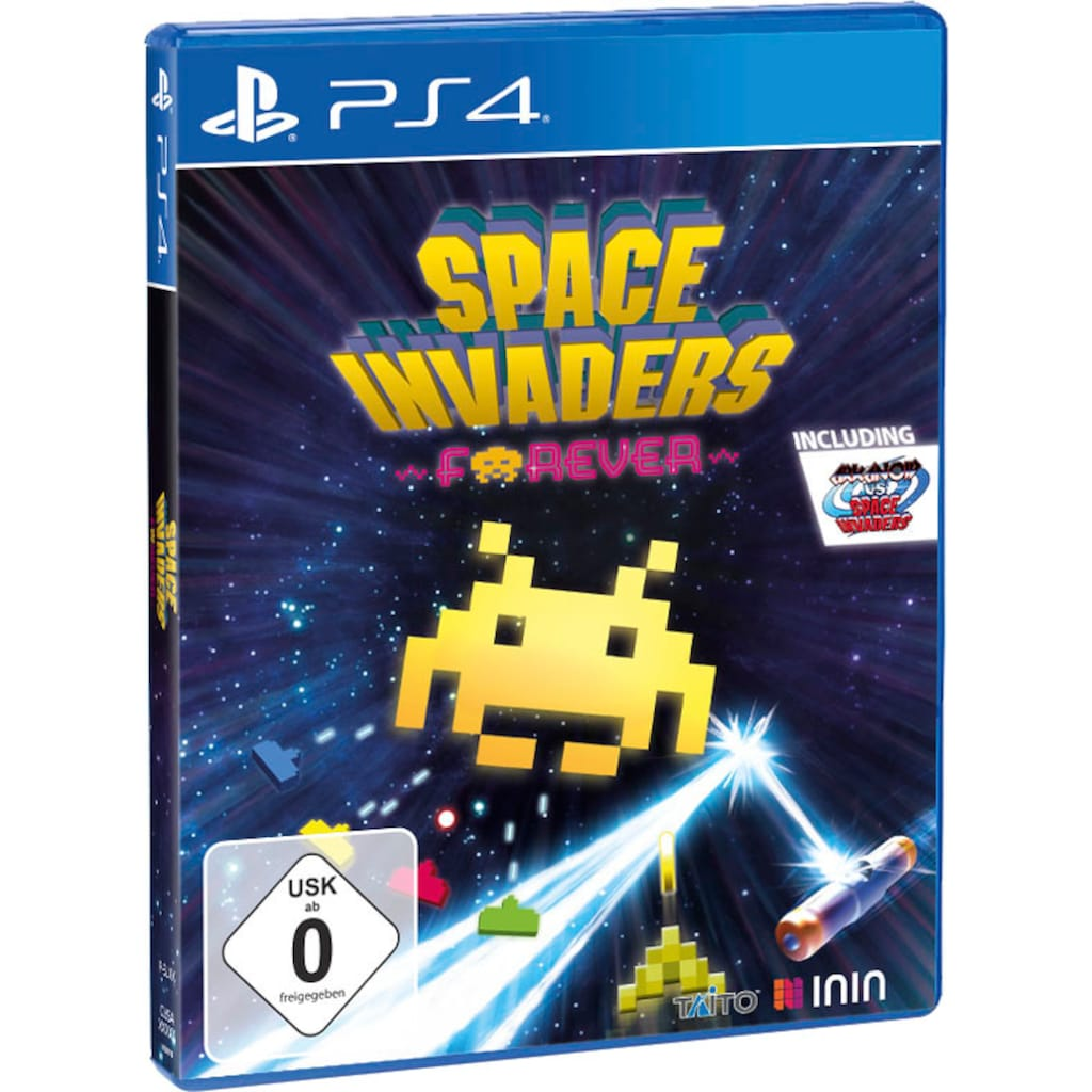 PlayStation 4 Spiel »Space Invaders Forever«, PlayStation 4