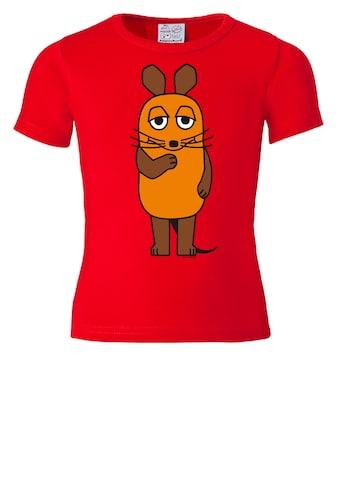 LOGOSHIRT Print-Shirt »Die Maus«, mit lizenziertem Originaldesign kaufen