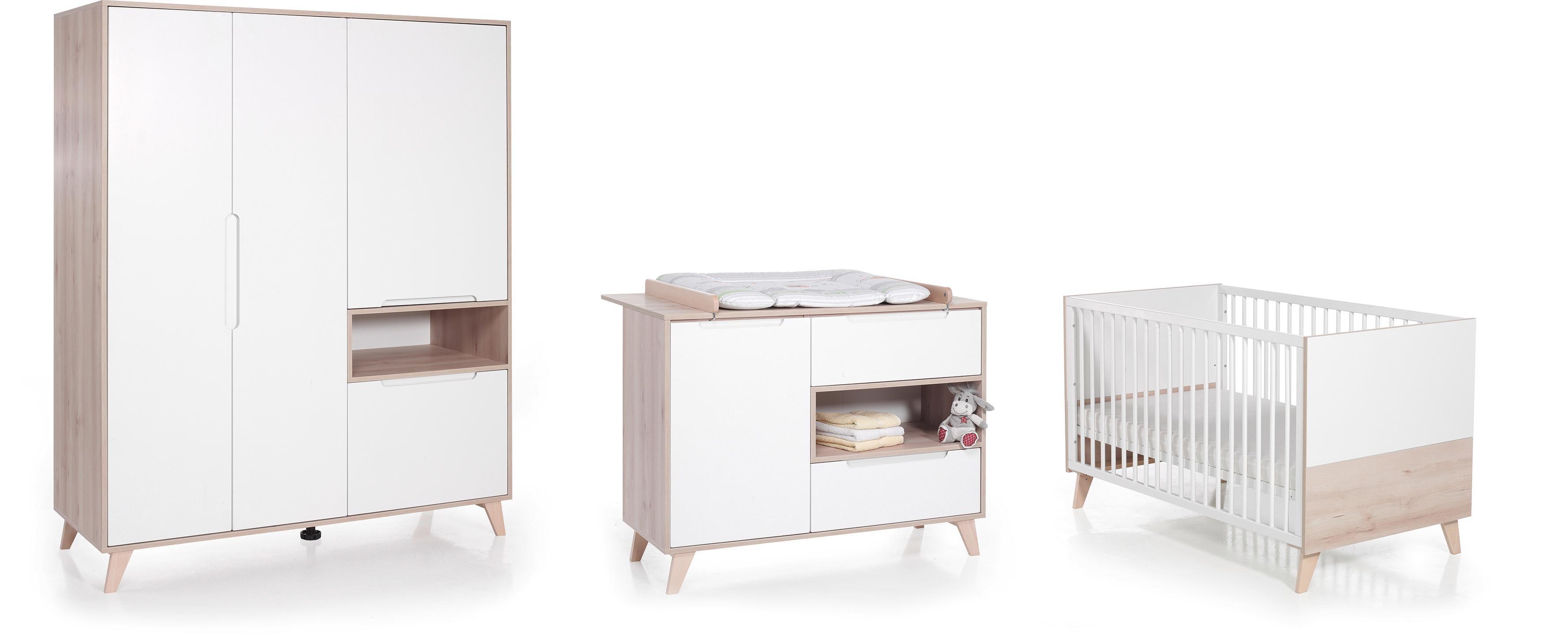 Babyzimmer set buche  hoeffner Komplett-Babyzimmer online kaufen | Möbel-Suchmaschine ...