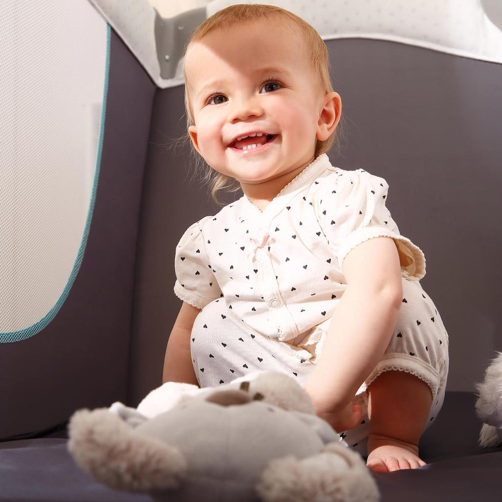 Hauck Baby-Reisebett »Play'n Relax Hearts«, inkl. Transporttasche