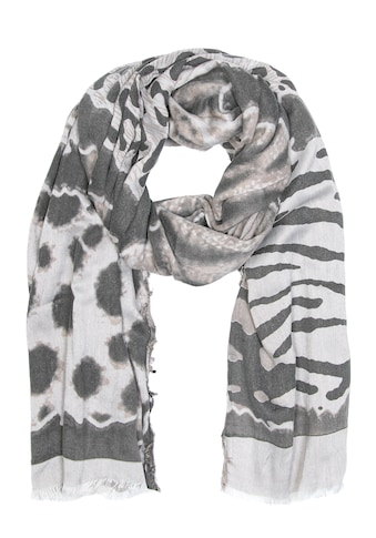 CASSANDRA Schal mit verspieltem Animalprint kaufen