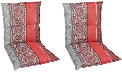 GO - DE Sesselauflage »Niederlehner«, 2er Set, (L/B): ca. 100x50 cm kaufen