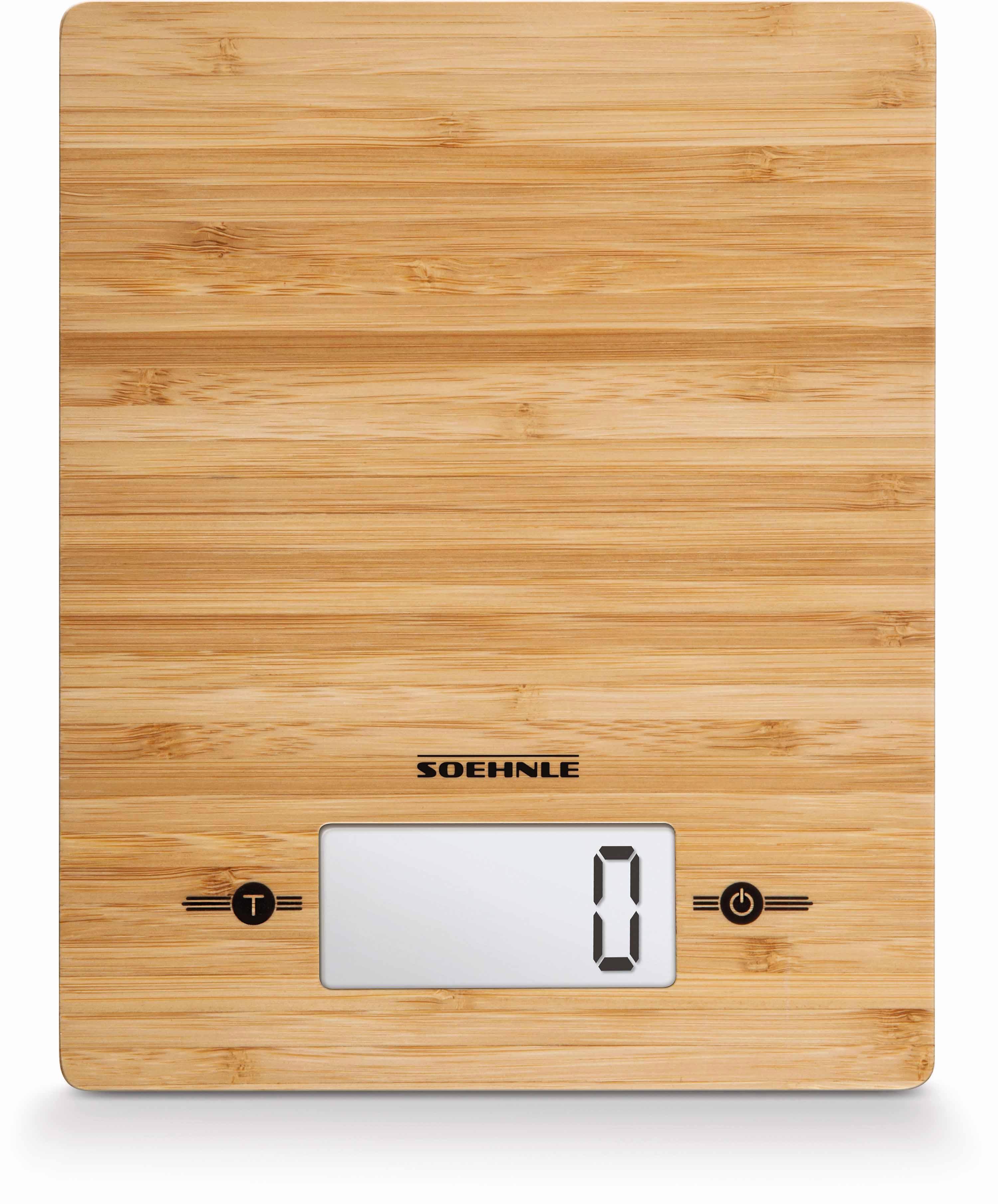 Soehnle Küchenwaage ´´Bamboo´´ (1-tlg) | Küche und Esszimmer > Küchengeräte > Küchenwaagen | Bambus | Soehnle