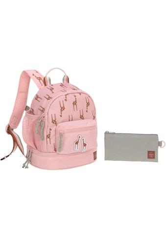 LÄSSIG Kinderrucksack »Safari Giraffe, rosa« kaufen