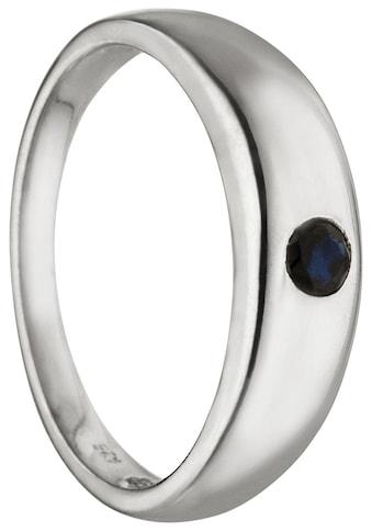 JOBO Kettenanhänger »Taufring«, 925 Silber mit Safir kaufen