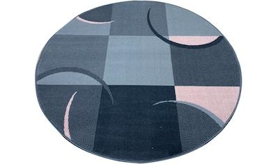 Teppich, »Dylan«, my home, rund, Höhe 7 mm, maschinell gewebt kaufen