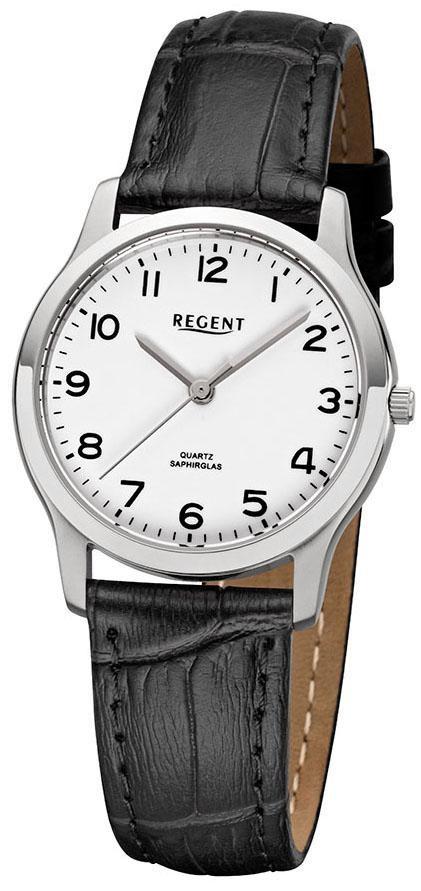 Regent Quarzuhr 79984019 F1073   Uhren   Schwarz   Regent