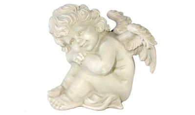 Casa Collection by Jänig Engelfigur »Engel, Hände auf die Knie gestützt, H 16 cm« kaufen