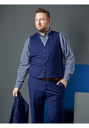 Men Plus by HAPPYsize Anzugweste, mit verstellbarem Riegel im Rückteil kaufen