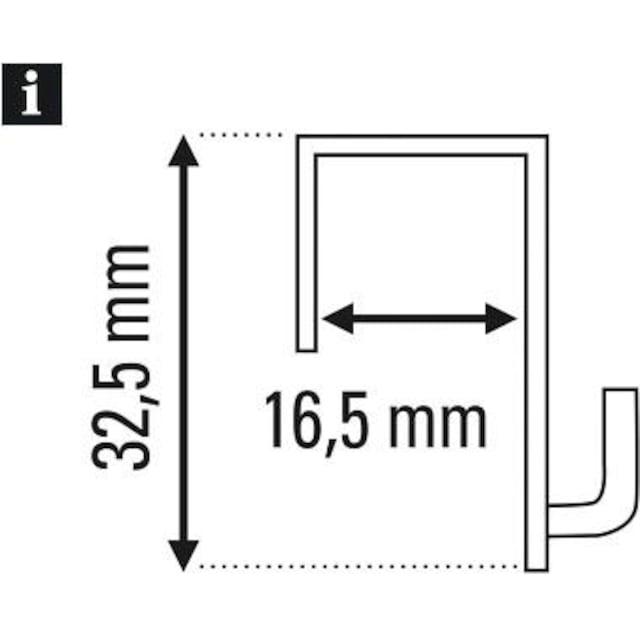 Gardinenhaken »Dekohaken für Fenster und Türen«, GARDINIA