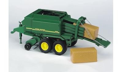 """Bruder® Spielfahrzeug - Anhänger """"John Deere Großballenpresse  -  grün"""" kaufen"""