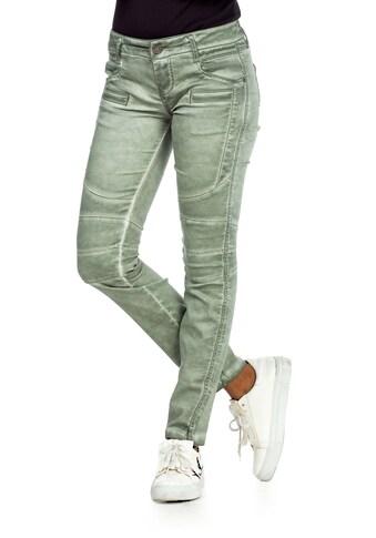 Cipo & Baxx Slim-fit-Jeans, mit trendigen Abnähern im Straight Fit kaufen