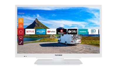 Telefunken LED - Fernseher (24 Zoll, HD ready, Smart TV, 12V) »XH24G501V - W« kaufen