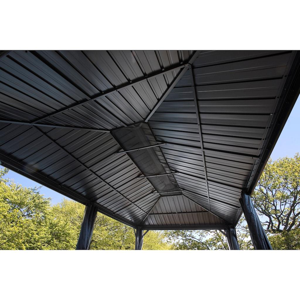 50NRTH Pavillon »Gazebo Messina«, BxL: 363x598 cm, inkl. Moskitonetze