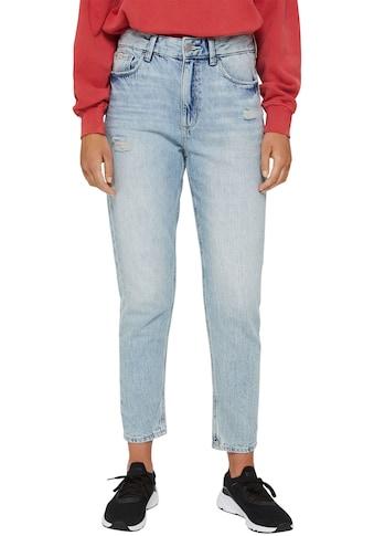 edc by Esprit Mom-Jeans, im destroyed-Look kaufen