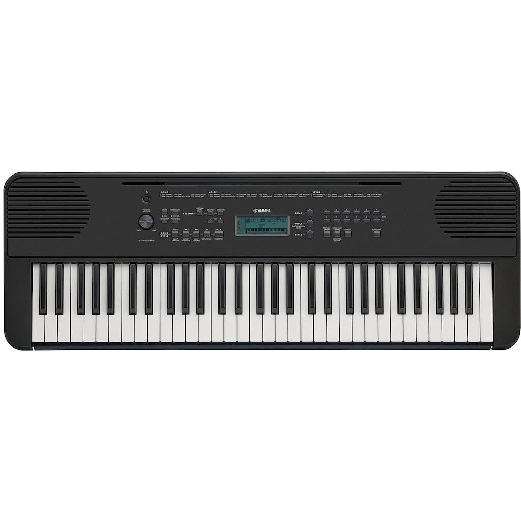 Yamaha Keyboard »PSR-E360B, schwarz«