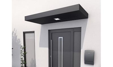 GUTTA Rechteckvordach »BS 200«, Aluminium anthrazit, BxT: 200x90 cm kaufen