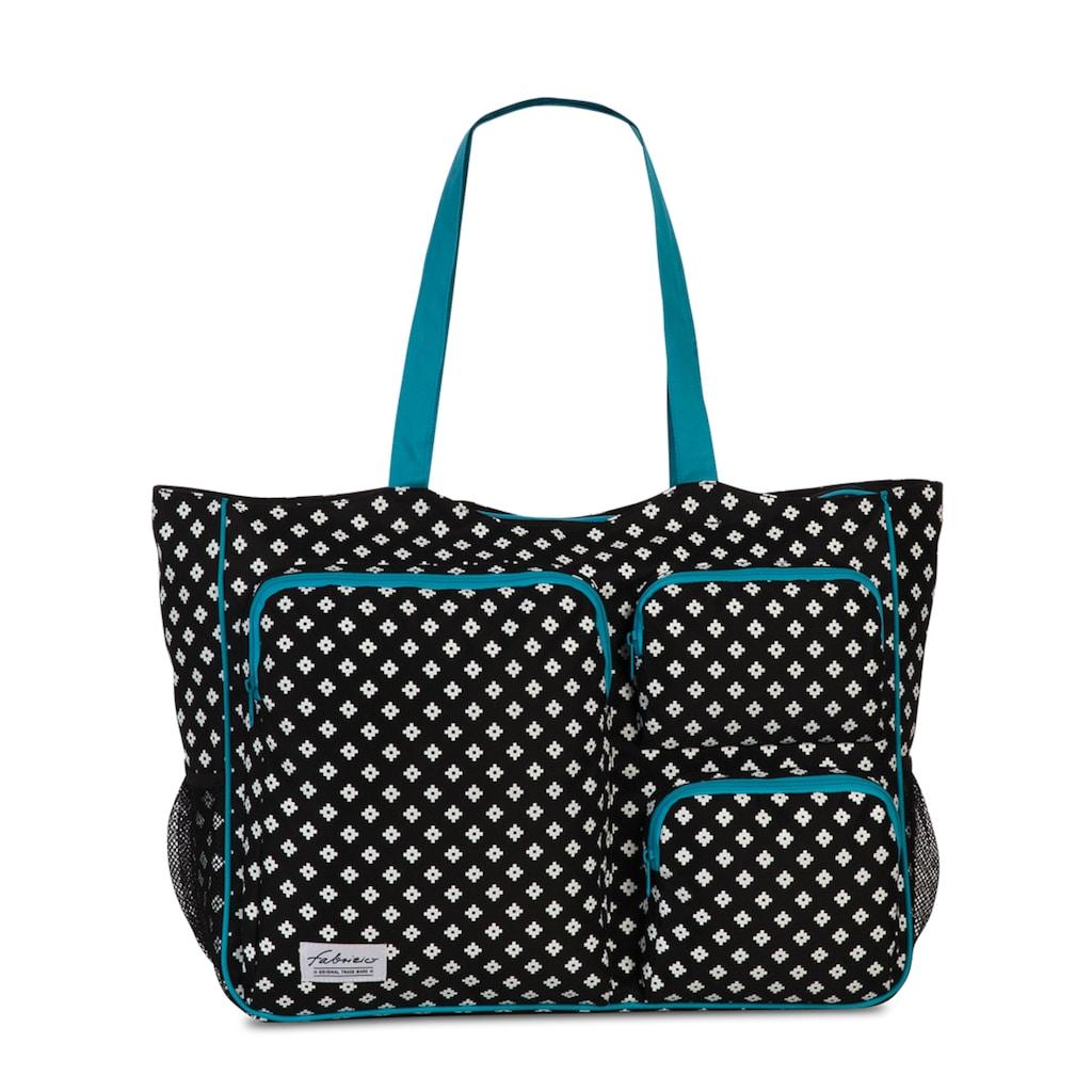 fabrizio® Strandtasche, mit viel Stauraum