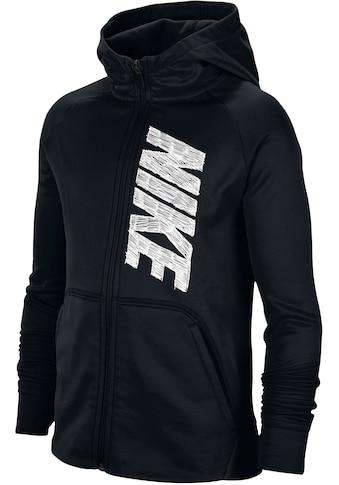 Nike Trainingsjacke »BOYS NIKE THERMA FULLZIP HOODIE« kaufen