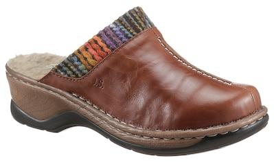 Josef Seibel Clog »CATALONIA 59«, mit buntem Textilbesatz kaufen