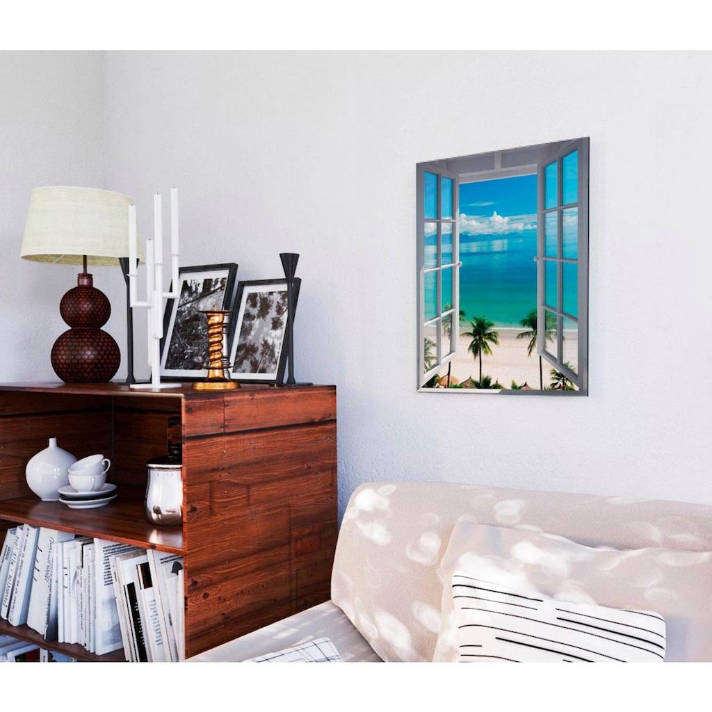 Reinders! Deco-Panel »Zimmer mit Meerblick«