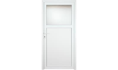 KM MEETH ZAUN GMBH Nebeneingangstür »K701P«, BxH: 98x208 cm cm, weiß, rechts kaufen
