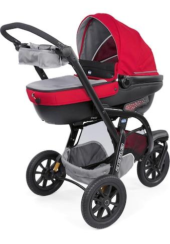 Chicco Kombi-Kinderwagen »Trio-System Activ3 Top, Red Berry«, mit Regenschutz kaufen