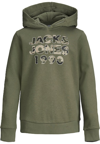 Jack & Jones Junior Kapuzensweatshirt »2er Pack JJCAMOMAN SWEAT HOOD« kaufen