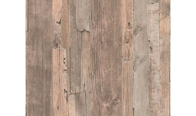 living walls Vliestapete »Best of Wood`n Stone 2nd Edition«, Holz, Holzplanken in Vintage-Optik kaufen