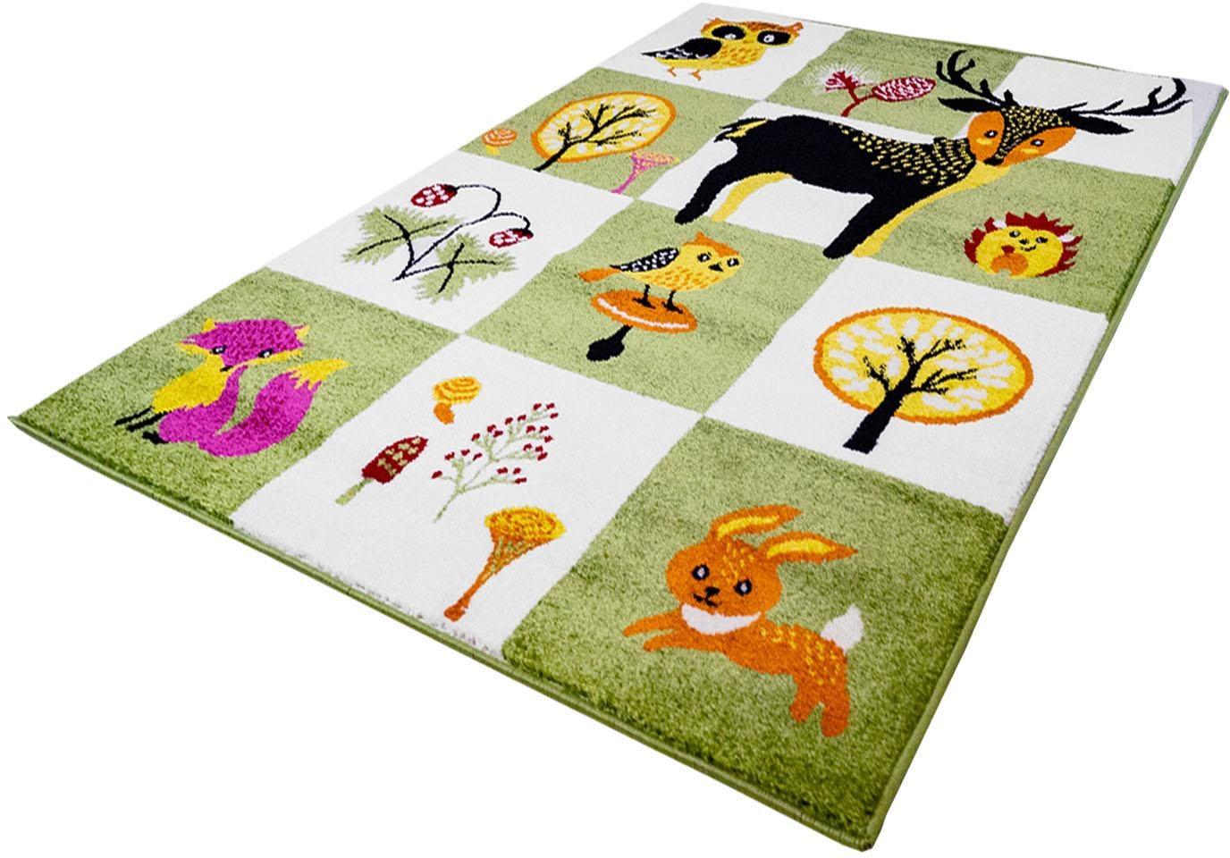 Kinderteppich Moda Kids 1510 Carpet City rechteckig Höhe 11 mm maschinell gewebt