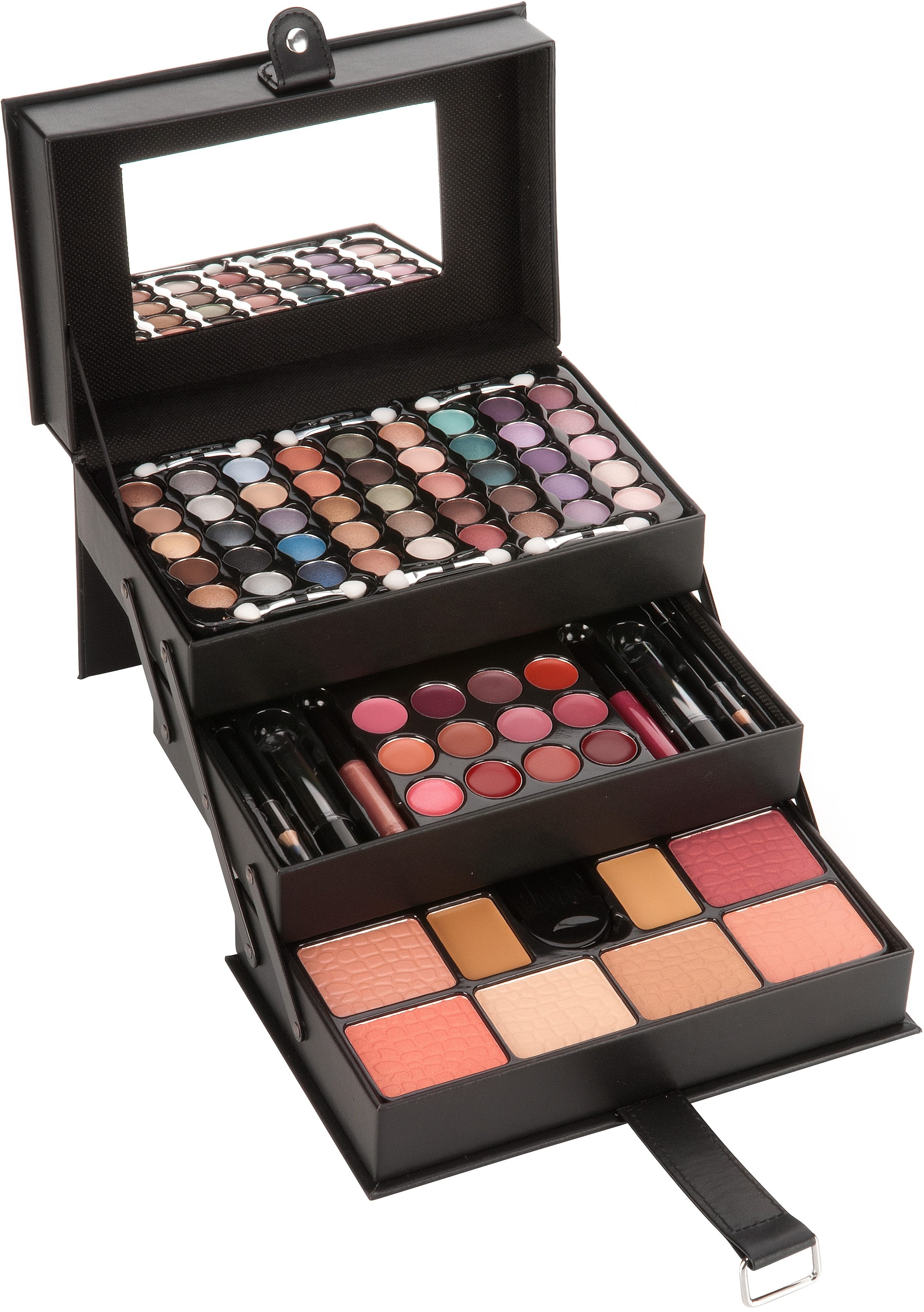 Kosmetik-Koffer ´´Jewellery Case´´ 81-tlg | Taschen > Koffer & Trolleys > Sonstige Koffer | Schwarz