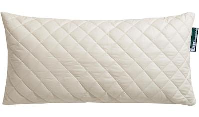 f.a.n. Schlafkomfort Naturfaserkissen »Wolle Anti Milbe«, Füllung: 97% Wolle, 3%... kaufen