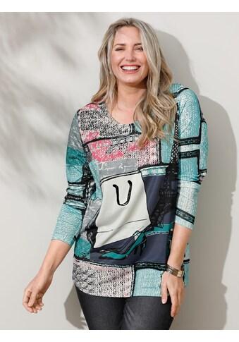 MIAMODA Langarmshirt, mit dekorativem Druck kaufen