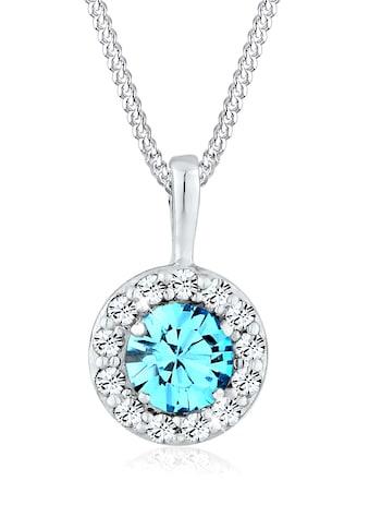 Elli Collierkettchen »Talisman Swarovski® Kristalle 925 Sterling Silber« kaufen