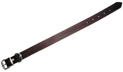 HEIM Hunde-Halsband, Echtleder, Länge: 40 cm kaufen