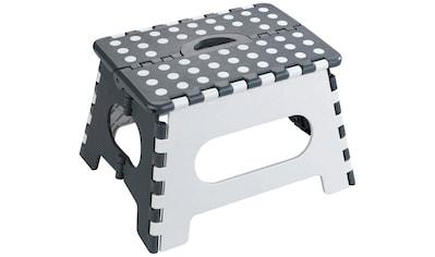 WENKO Hocker »Secura«, BxTxH: 35x27x22 cm, belastbar mit bis zu 350 kg kaufen