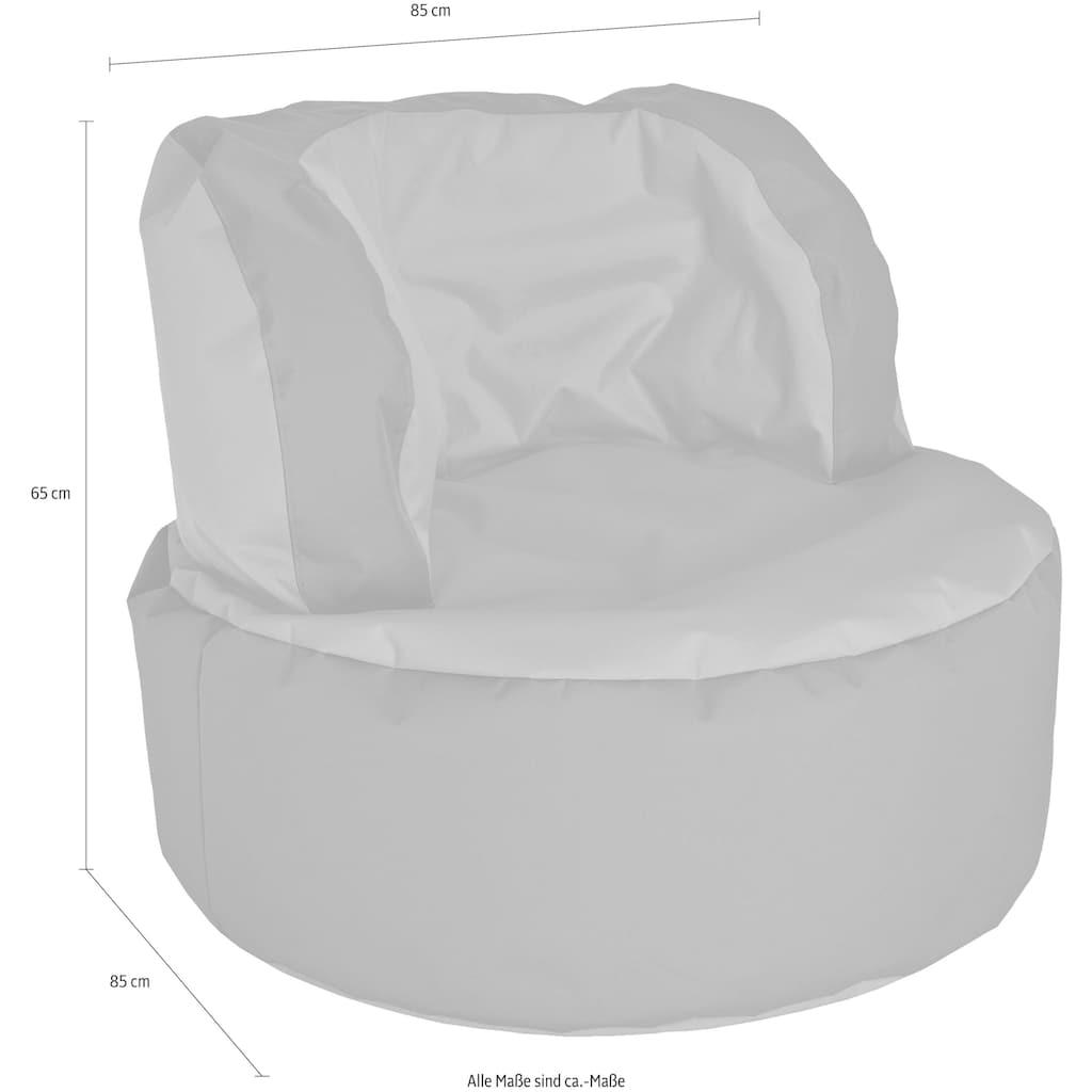 Sitting Point Sitzsack »SCUBA Bebop«, zweifarbig