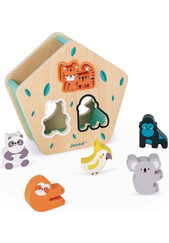 Janod Lernspielzeug »WWF® Sortier- & Steckspiel - Tiere«, FSC®-Holz aus gewissenhaft... kaufen