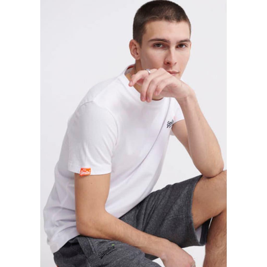 Superdry Sweatshorts »ORANGE LABEL CLASSIC SHORT«