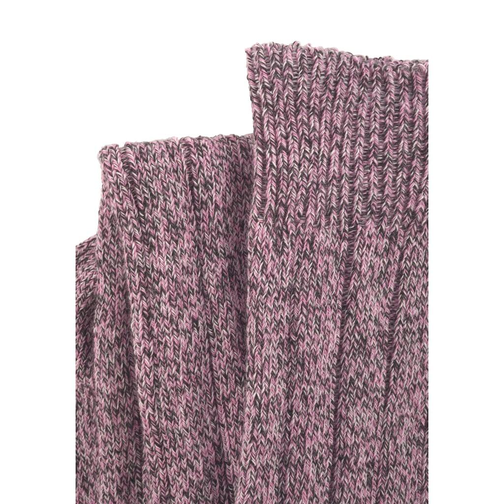 Lavana Overknees, (2 Paar), in Melangequalität