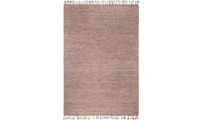 LUXOR living Teppich »Fay«, rechteckig, 5 mm Höhe, reine Baumwolle, handgewebt, mit... kaufen
