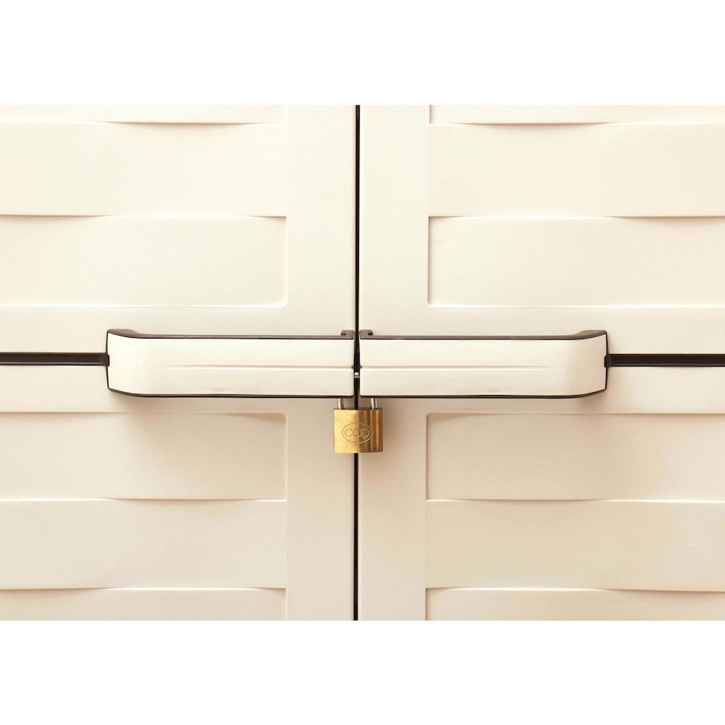 Kreher Mehrzweckschrank »Premium«, BxTxH: 65x45x181,5 cm, mit 4 verstellbaren Einlegeböden