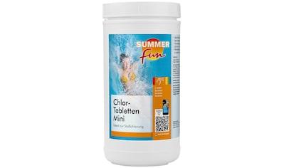 SUMMER FUN Chlortabletten »Chlor-Mini-Tabletten«, 1,2 kg kaufen
