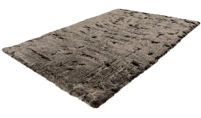 Leonique Hochflor-Teppich »Aysu«, rechteckig, 52 mm Höhe, kuschelig, Wohnzimmer kaufen