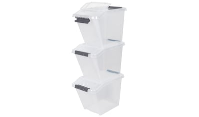 Kreher Aufbewahrungsbox, (Set, 3 St.), ca. 40x65x44 cm (BxTxH) kaufen